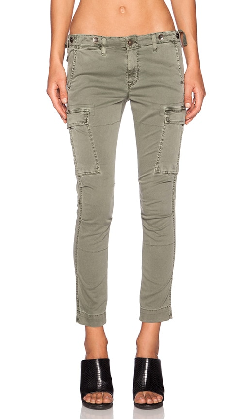 Hudson Jeans Rowan Slouchy Cargo Pant in Juniper