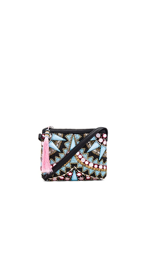 HueBreeze Beaded Clutch in Multi