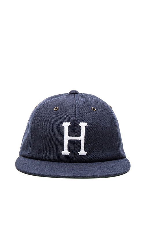Huf Classic H 6 Panel Hat in Navy  5148423035d5