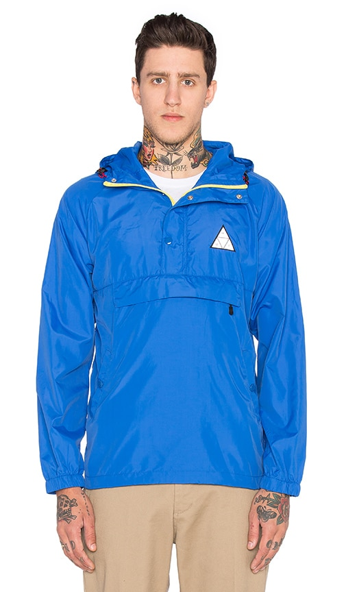Huf Varick Packable Anorak in Royal