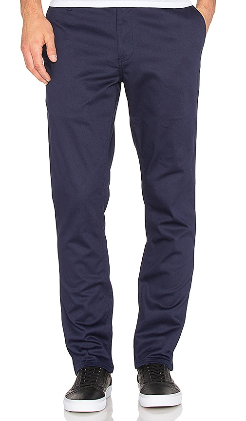 Huf Fulton Chino Slim Pant in Navy