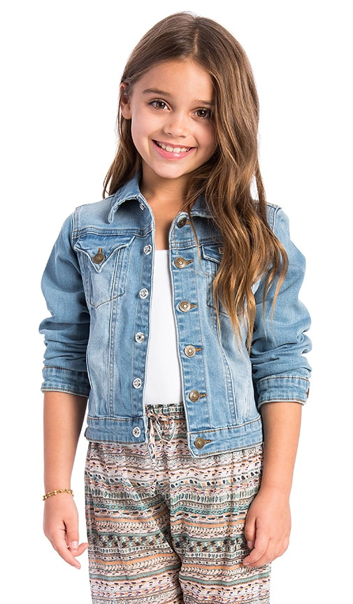 Hudson Jeans Kids Jean Jacket in Vintage Blue
