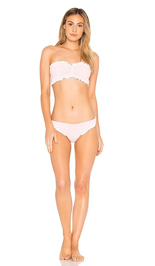 Hunza G Lucille Bikini Set in Pink