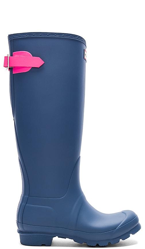 Hunter Original Back Adjustable Boot in Slate