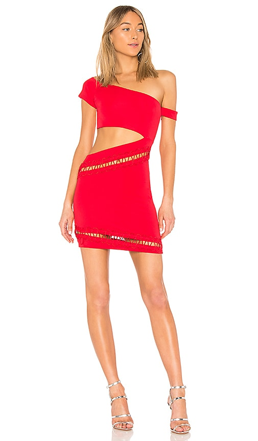 h:ours River Dress in Red