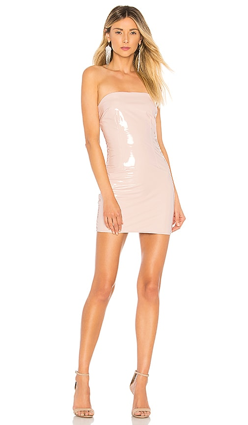 0b2ff9c18c92b h:ours Mirabelle Dress in Nude Gloss | REVOLVE