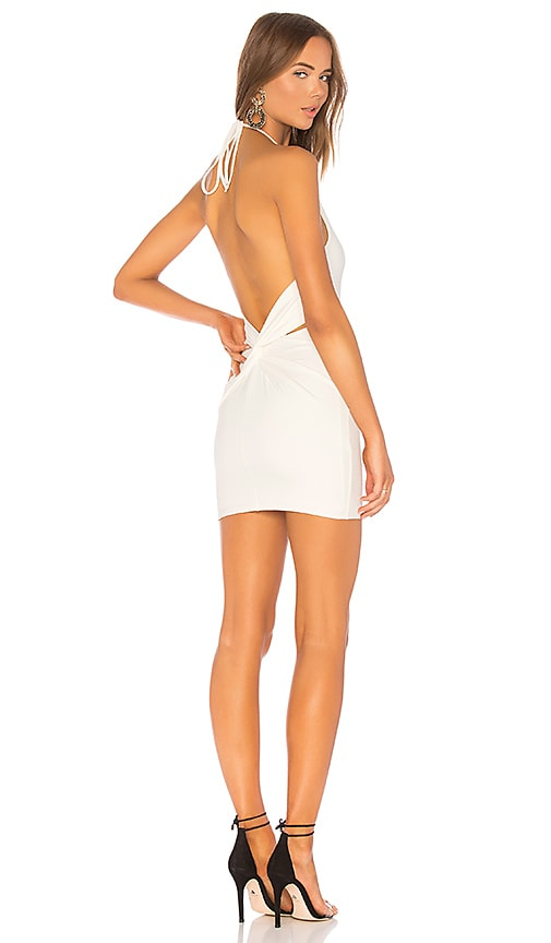 h:ours Niles Dress in White