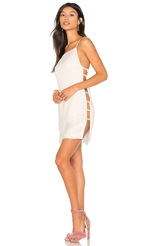 h:ours Giselle Dress in White