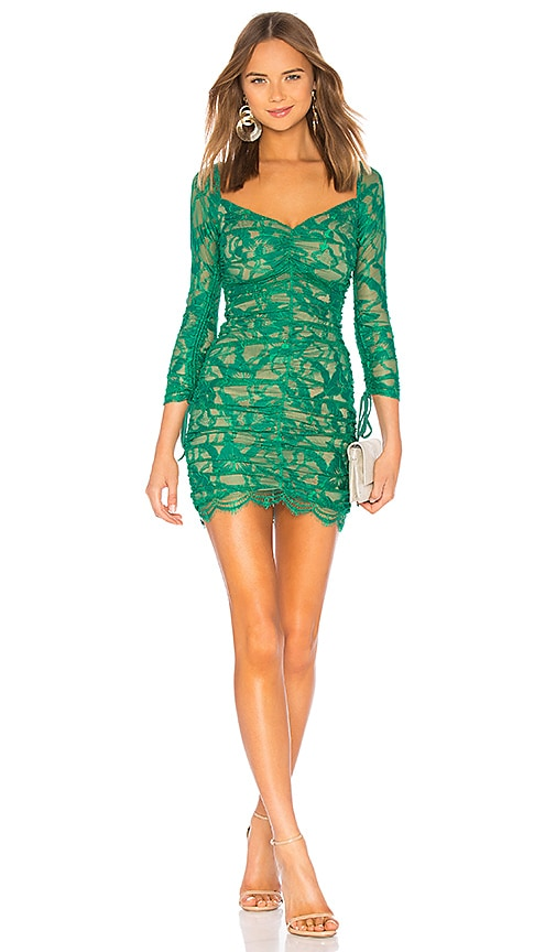 0384a36b9ab h:ours Francin Dress in Emerald | REVOLVE