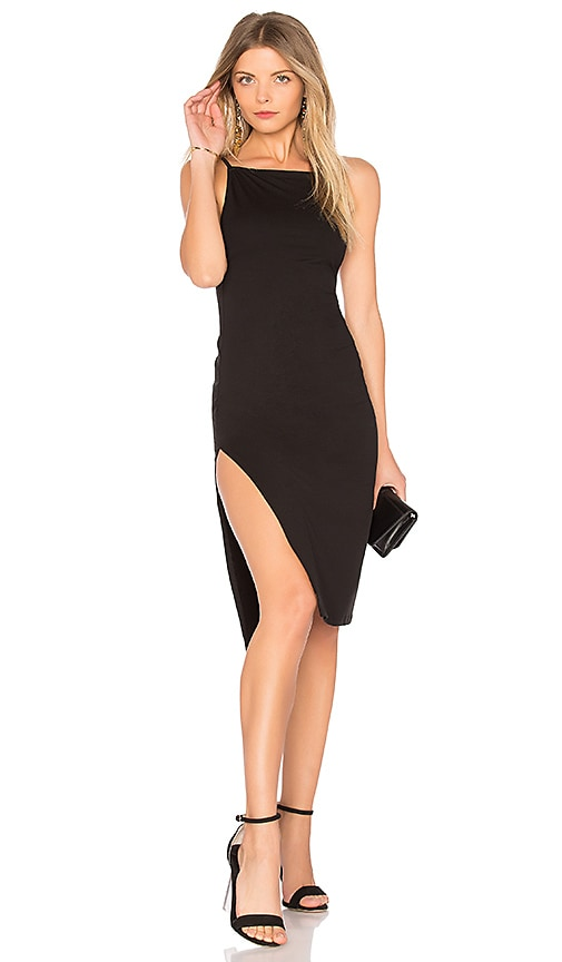h:ours Cecile Dress in Black