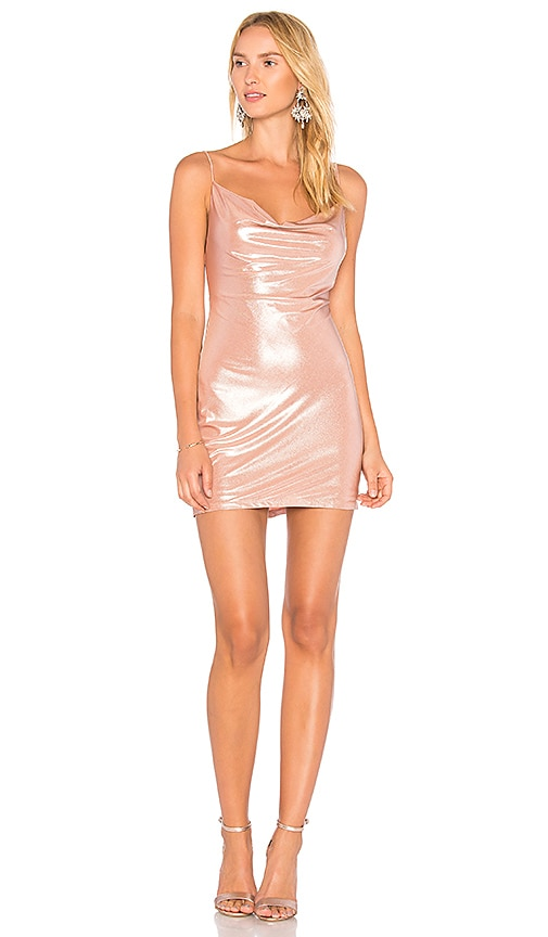 h:ours x REVOLVE Willa Slip Dress in Pink