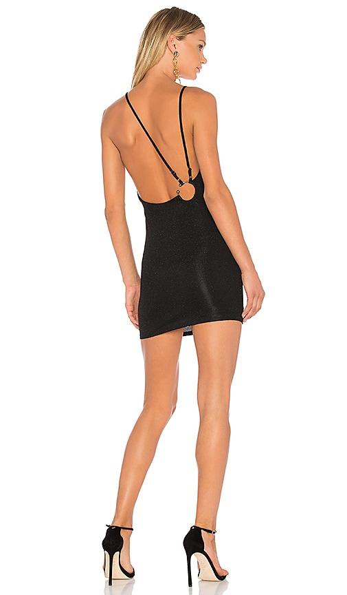 h:ours x REVOLVE Nicholas Dress in Black