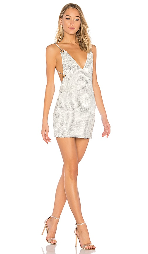 h:ours x REVOLVE Aveline Sequin Dress in White