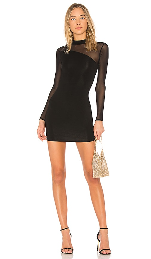 h:ours x REVOLVE Cherise Dress in Black