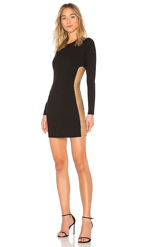 h:ours Miller Dress in Black