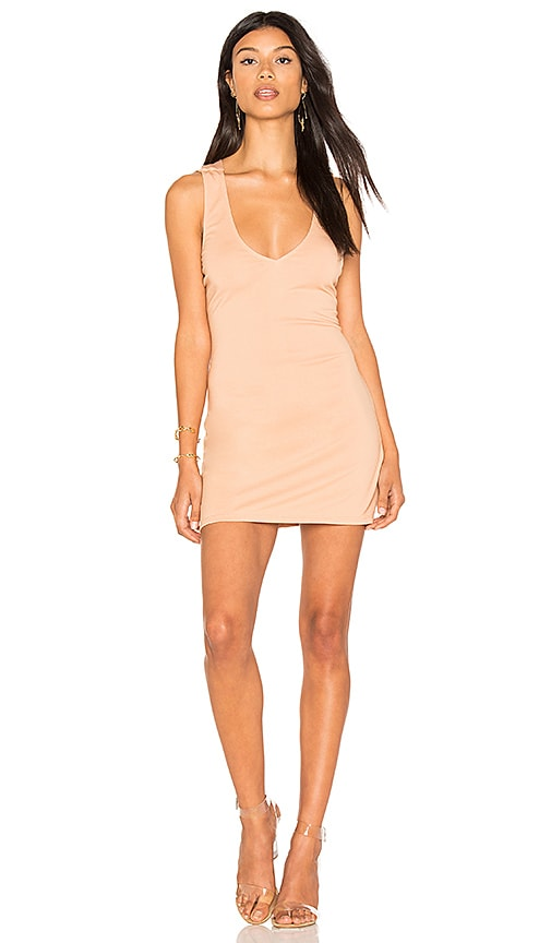 h:ours Amelia Dress in Beige