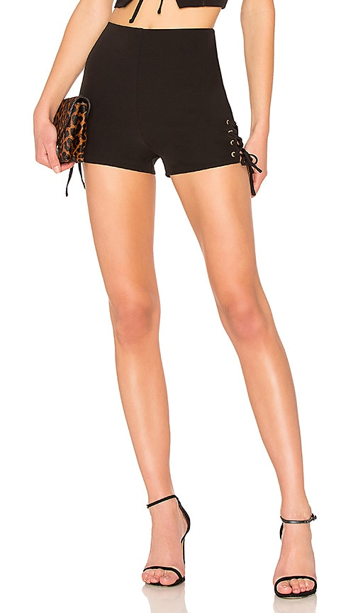 h:ours Kamille Short in Black