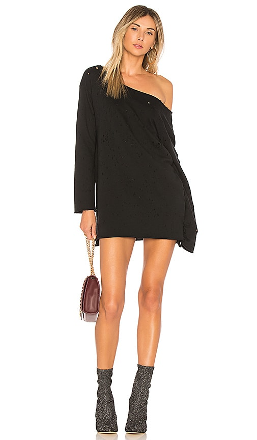 h:ours x REVOLVE Wilcox Oversized Pullover in Black