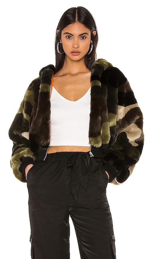 Normandy Faux Fur Jacket