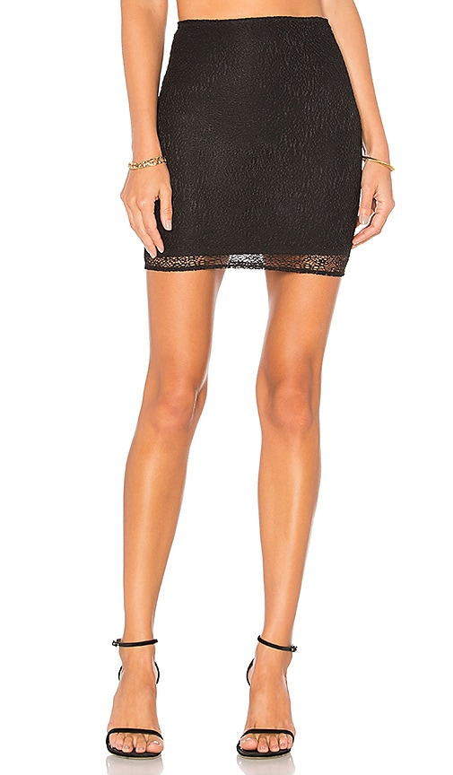 h:ours Brighton Skirt in Black