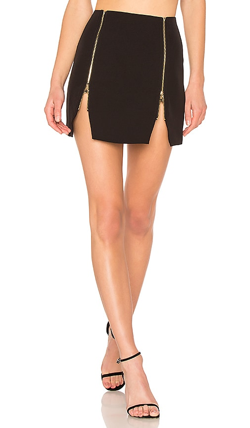 h:ours Jonnie Skirt in Black
