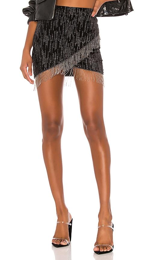 Drip Mini Skirt