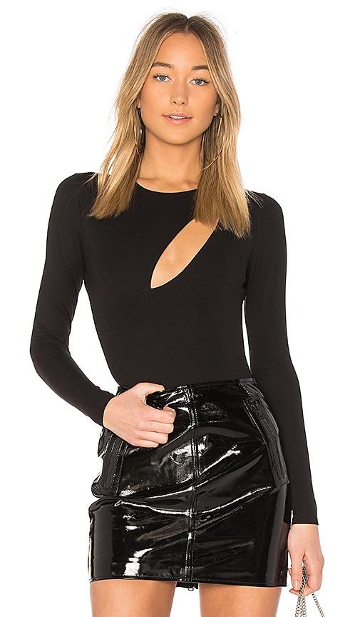 Norah Bodysuit in Black. - size M (also in L,S) Devlin