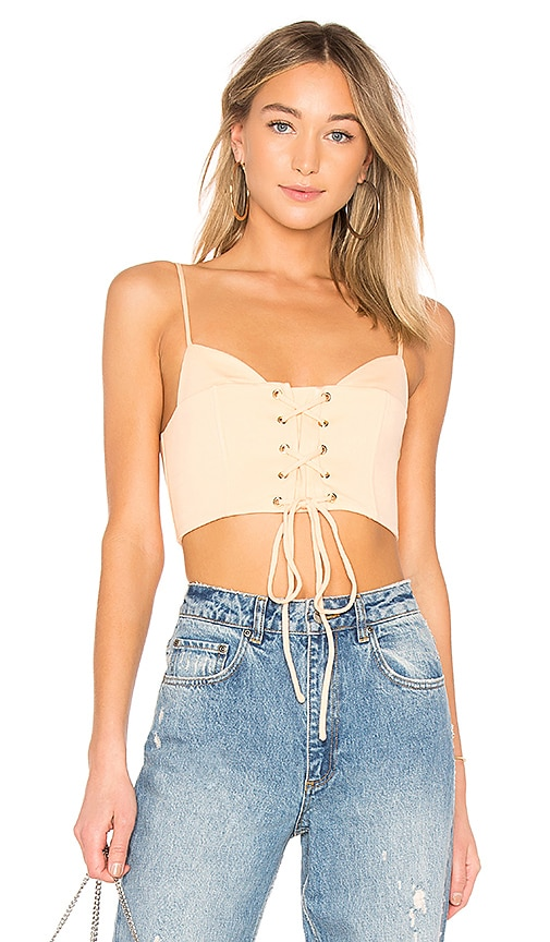 h:ours Neo Bustier in Peach