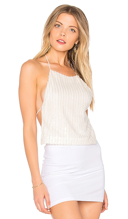 h:ours Elise Top in White