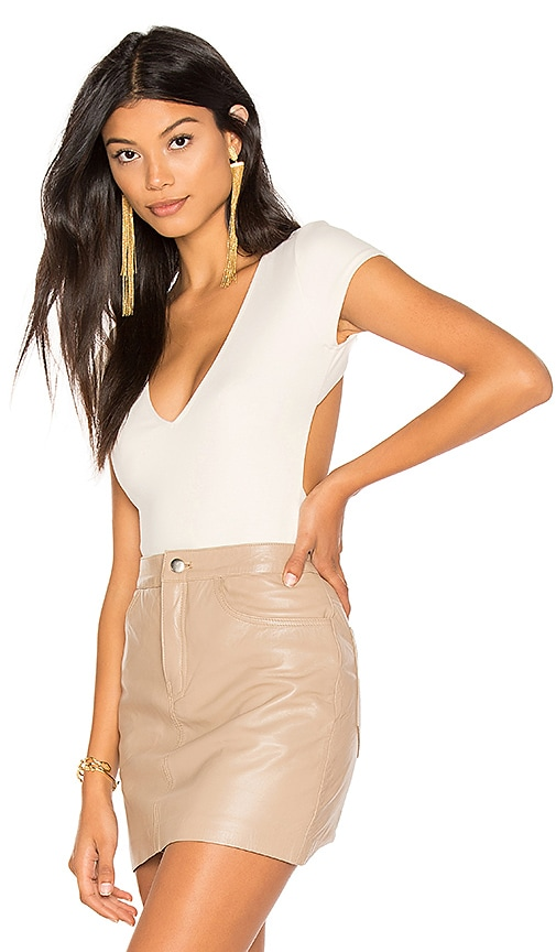 Cross Back Short Sleeve Bodysuit