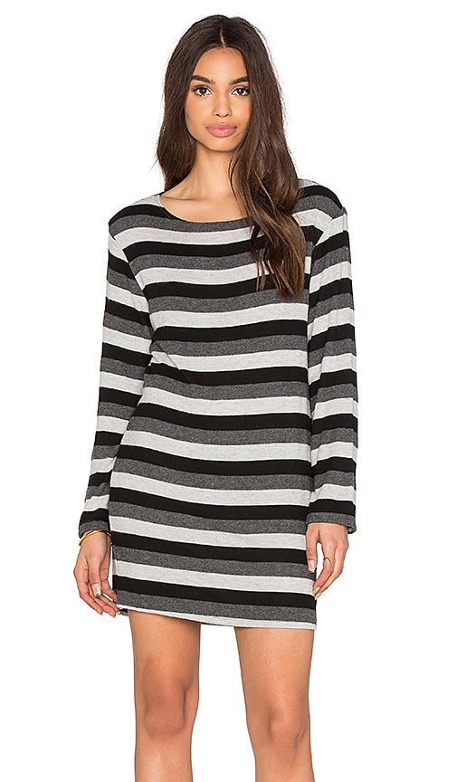 Hye Park and Lune Stacy Dress in Neutral Stripe