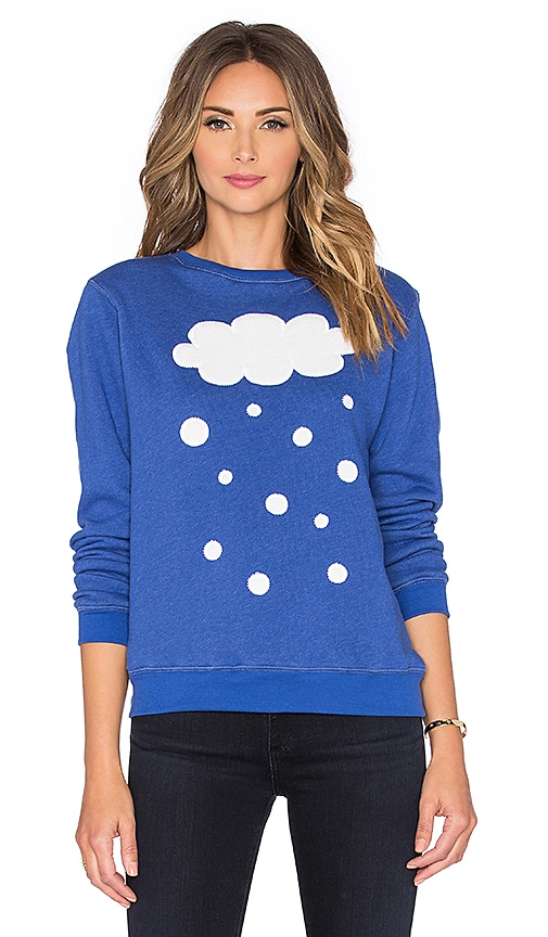 Hye Park and Lune Snow Sweatshirts in Skydiver