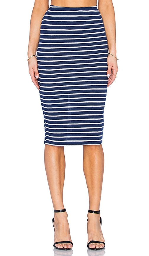 Hye Park and Lune Alyssa Skirt in Navy