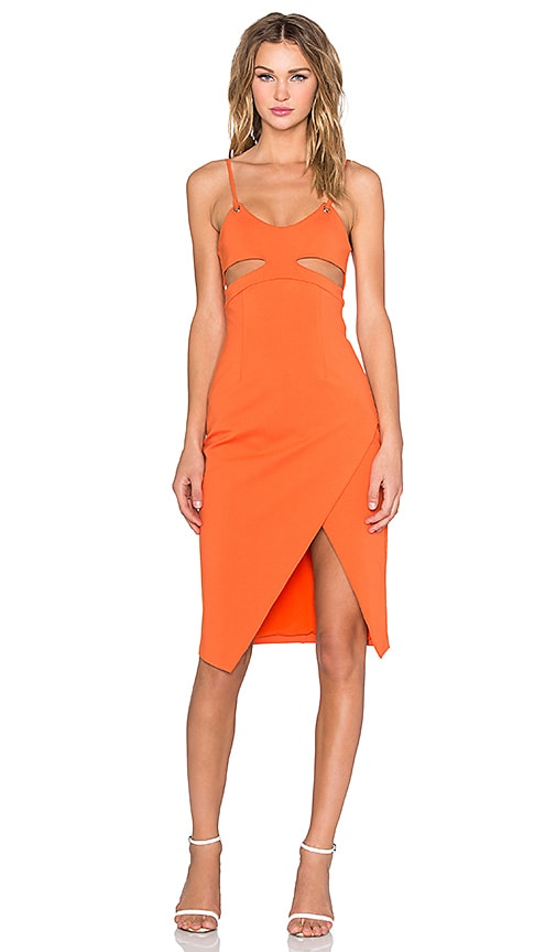 ISLA_CO Vivid Dress in Orange