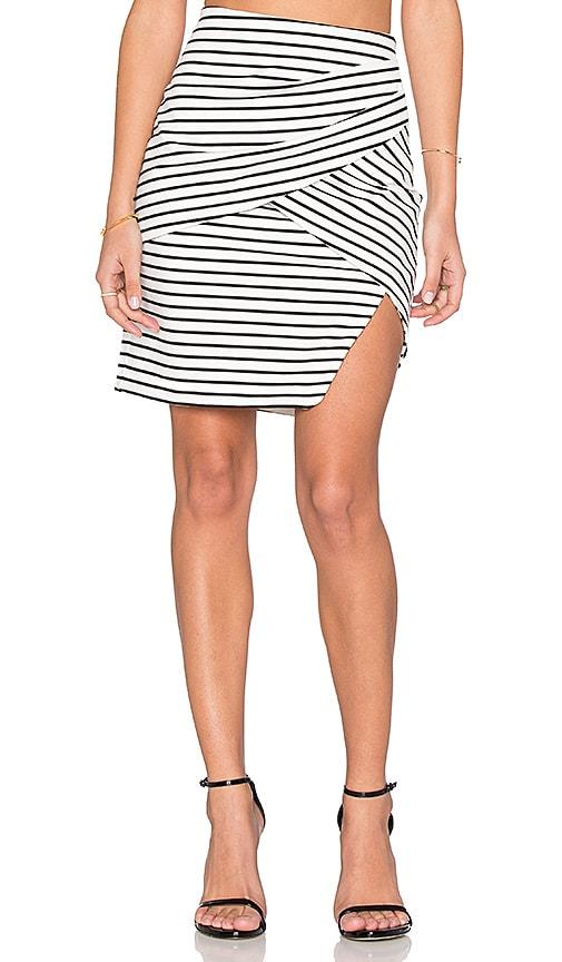 ISLA_CO Allure Skirt in Black & White