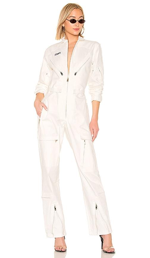 6d3951d0948 I.AM.GIA Neo Noir Boiler Jumpsuit in White