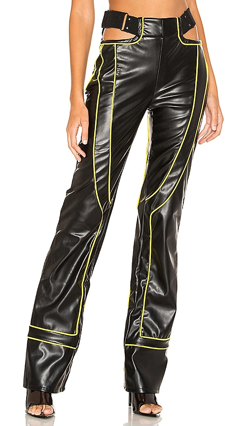 Nora Faux Leather Pant