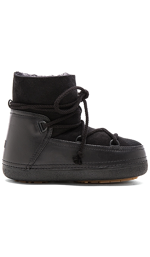 IKKII Classic Boot with Lamb Shearling in Black