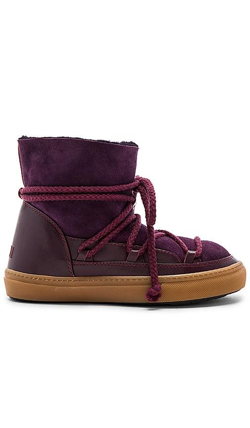 INUIKII Sneakers Classic Boot with Lambskin in Purple