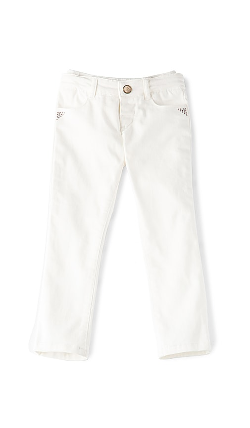 IKKS Paris Paris Pant in White