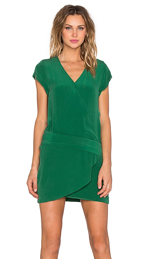 IKKS Paris Mini Dress in Green