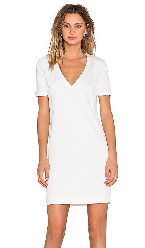 IKKS Paris Shift Dress in White