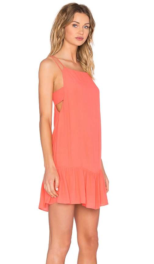IKKS Paris Tank Mini Dress in Orange