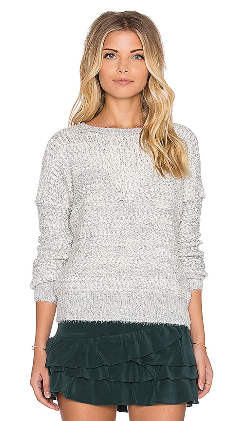 IKKS Paris Long Sleeve Sweater in Gray