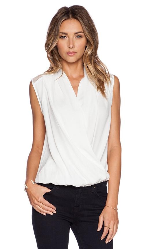 IKKS Paris Sleeveless Blouse in White
