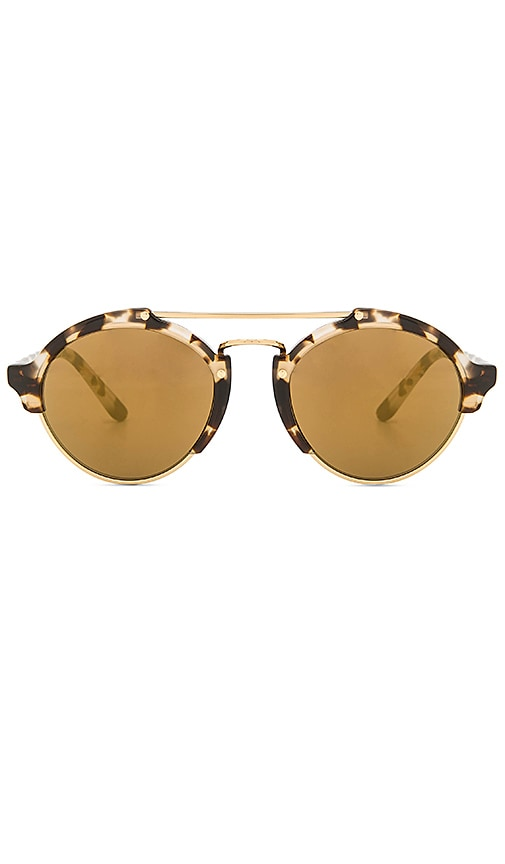 illesteva Milan II Sunglasses in Brown
