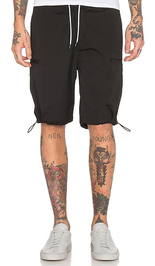 I Love Ugly Zespy Zip Short in Black