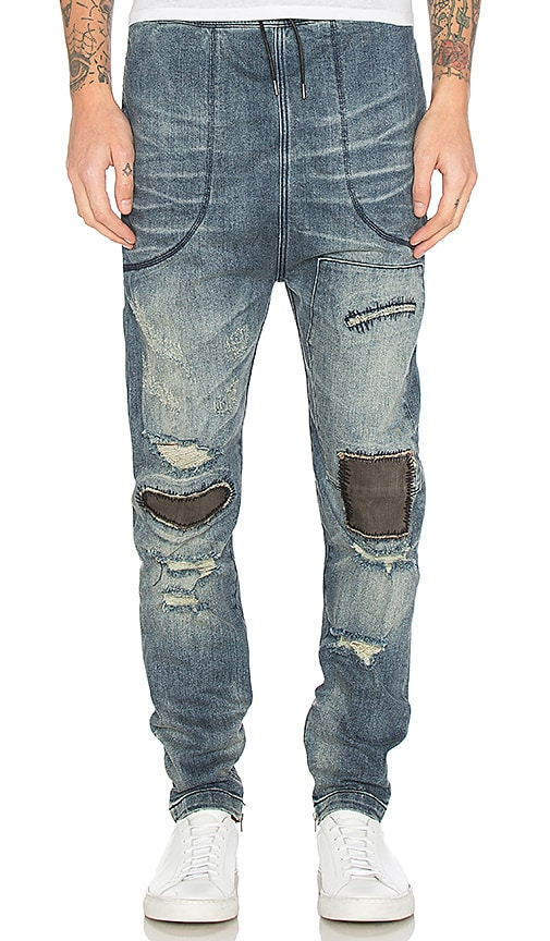 I Love Ugly Re-engineered Zespy Pants in Denim