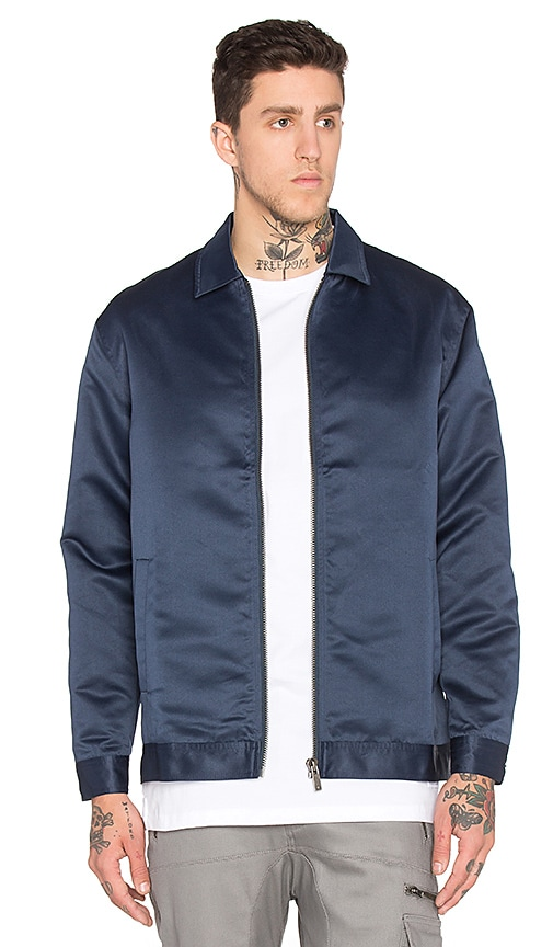 Satin Coaches Jacket