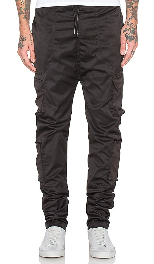 I Love Ugly Zespy Militia Pant in Black